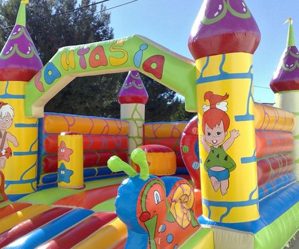 Elementos de seguridad para el uso de castillos hinchables