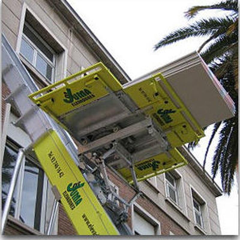Servicio de elevación: Catálogo de Elevadores Juma