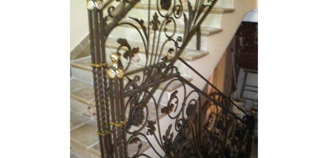 B2 - Barandilla de forja para escalera