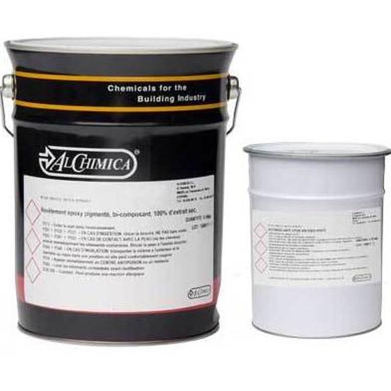 EUROFLOOR-EPOX-100-T en almacén de pinturas en ciudad lineal.