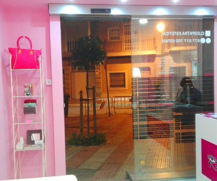 PUERTA AUTOMATICA DE CRISTAL LAMINAR  RAPIDA FAREM DELUX 1 CORREDERA
