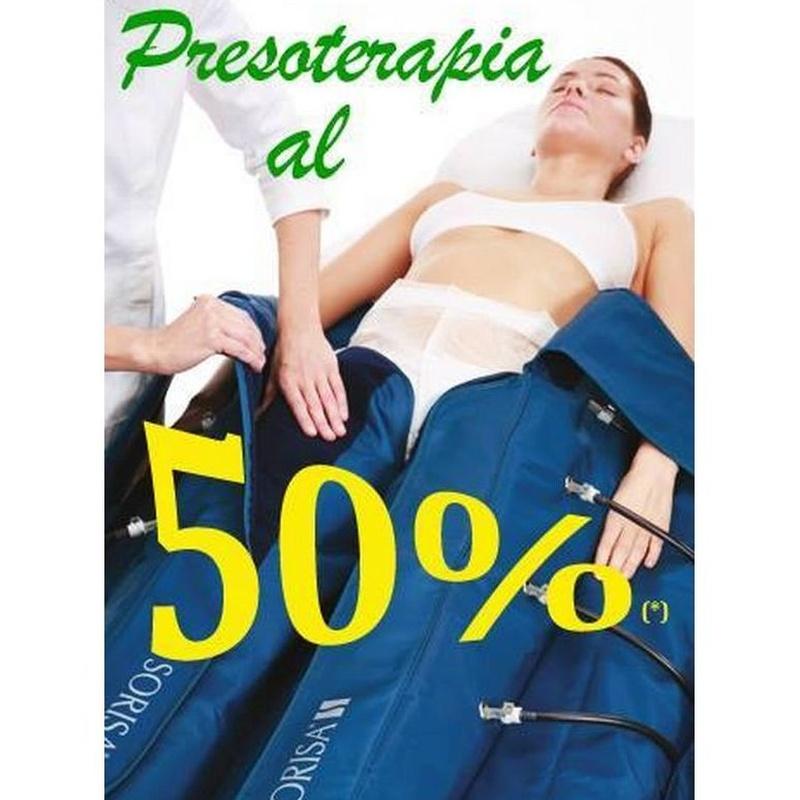 Presoterapia : Tratamientos  de Centro de Belleza Patricia Granda