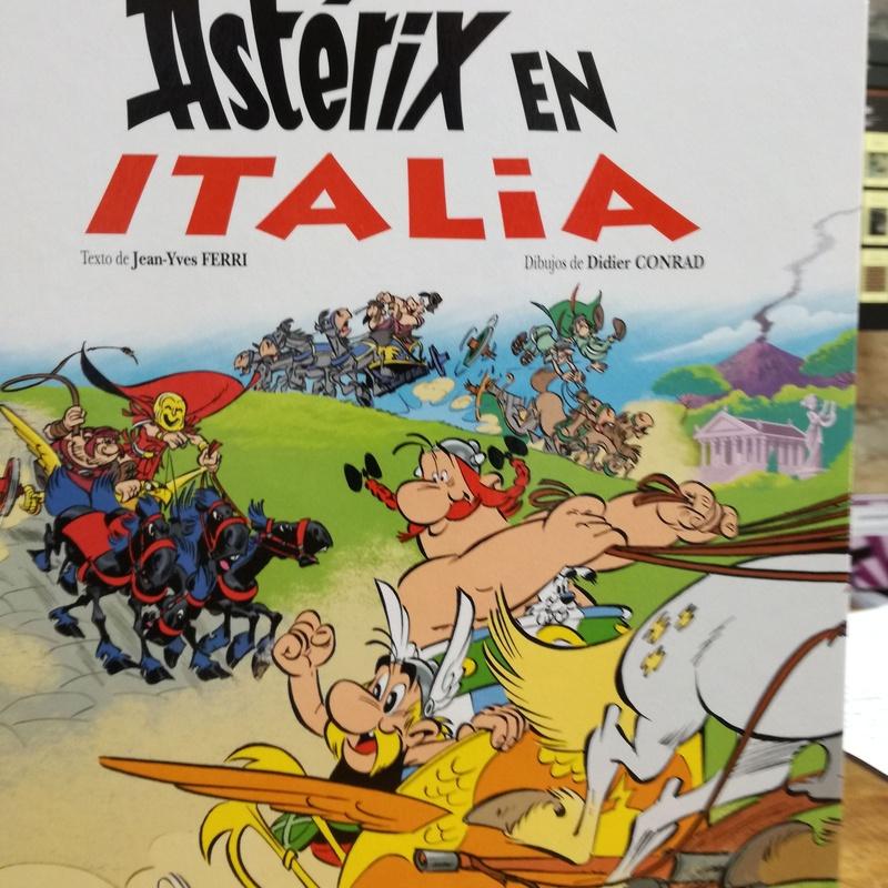 Asterix en Italia: SECCIONES de Librería Nueva Plaza Universitaria