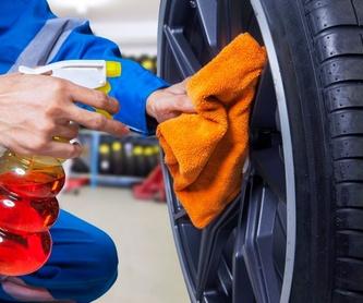 Mecánica rápida: Servicios de Lavadero & Neumáticos Rocío