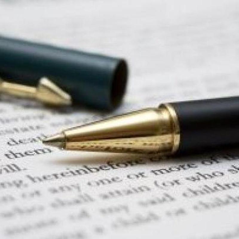 Escrituras: Servicios de Gestoría Olmedo, S.L.P.