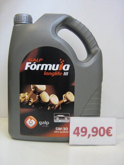 galp formula longlife diesel/gasolina 5w30: Servicios de Safety Car