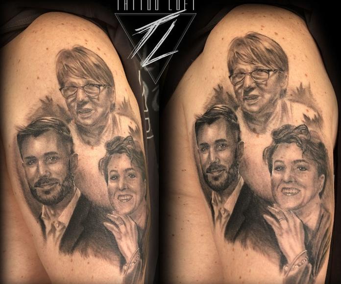 Matteo Buscicchio: Tatuadores de Tattoo Loft