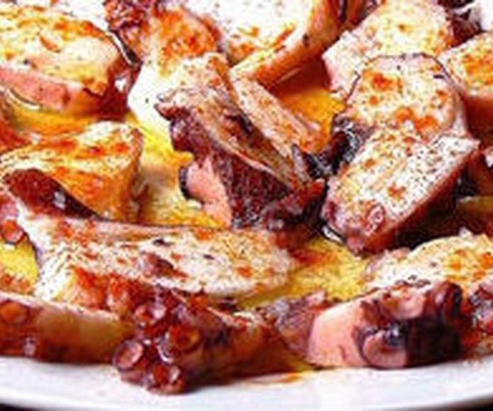 Pulpo a la Gallega: CARTA EL SEVILLANO de Restaurante Sevillano