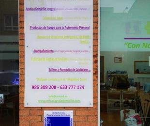 Centro acreditado  atención a personas dependientes  Principado de Asturias