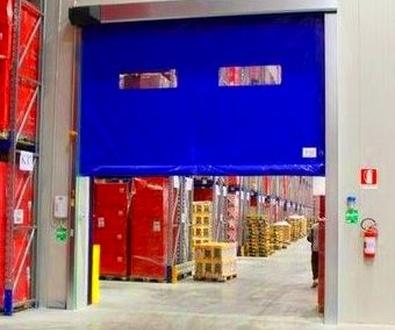 Puertas Rápidas de lona Enrollables Autorreparable