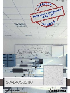 Oferta falso techo desde 12.95€ m²