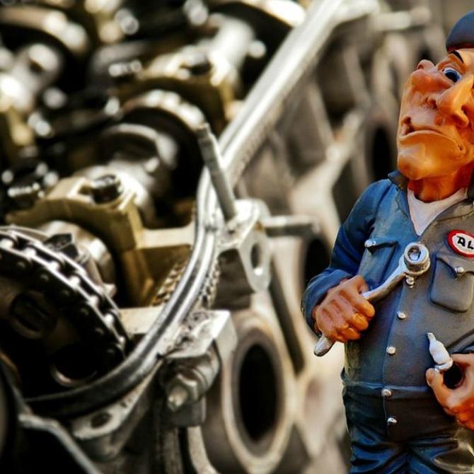 Las partes de un motor diésel