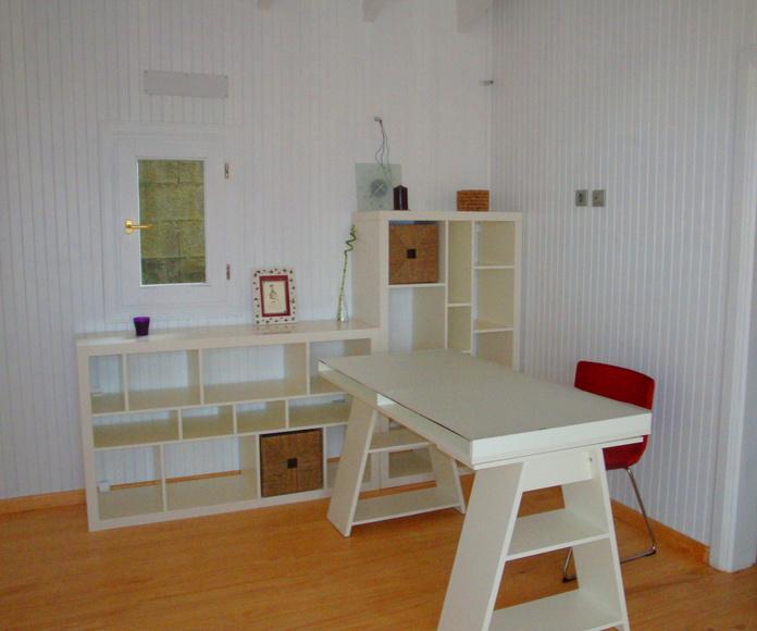Interior Casa de Madera Cortelima