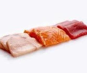 Ternera con salsa: Carta de Sushi Time Buffet Libre