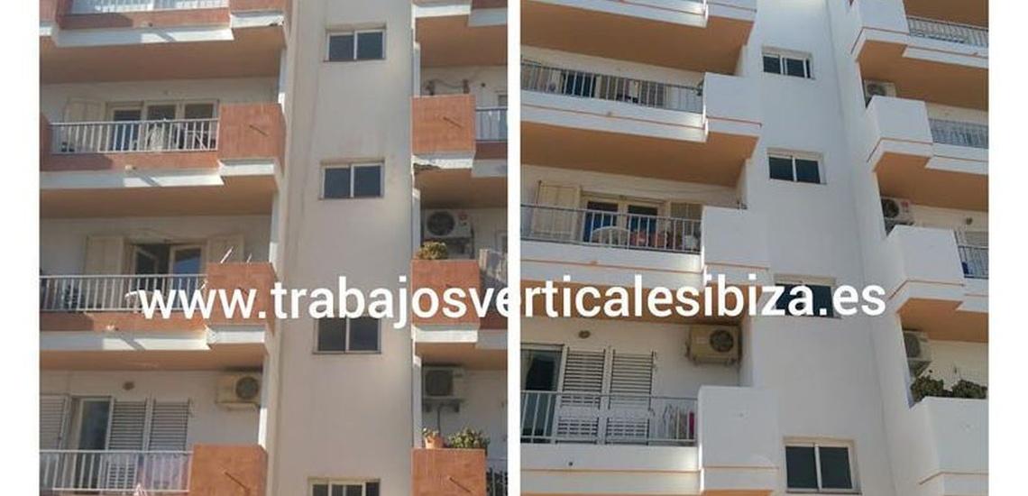 Rehabilitación de fachadas en Ibiza