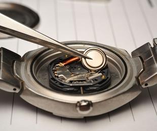 Cambio de pilas de reloj