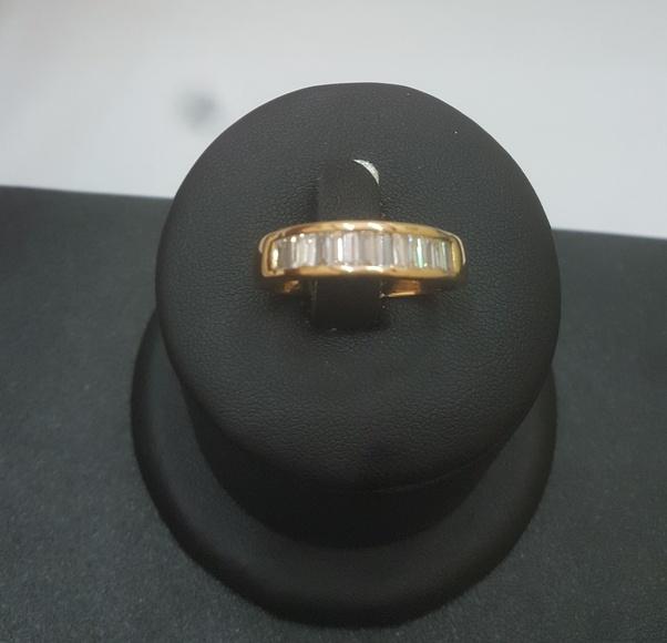 Anillo oro y diamantes - Mr Silver & Gold