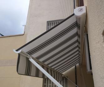 Instalación, reparación y reformas: Servicios de Toldos Novasol