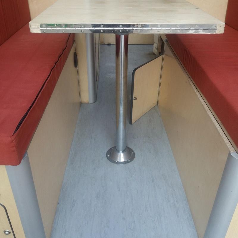 Ford Transit de 3 plazas: Servicios de CamperIbiza