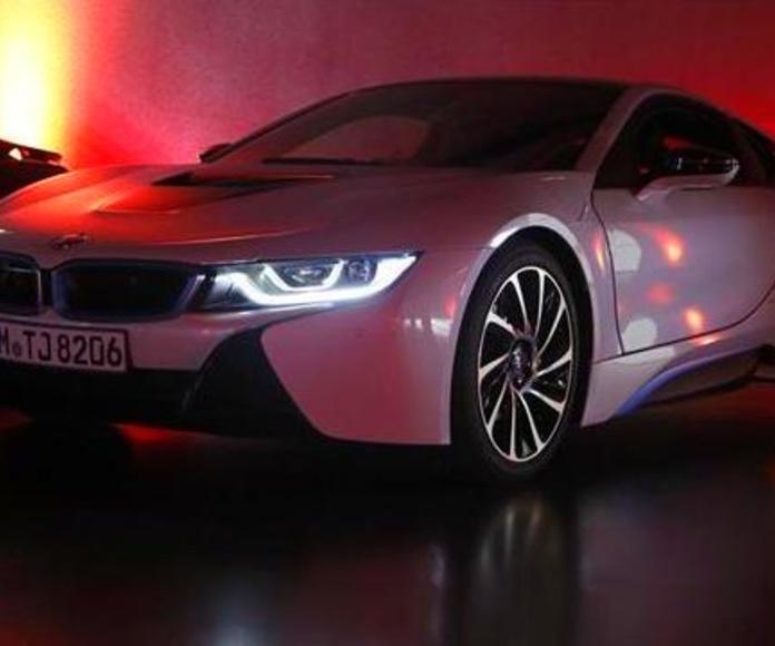 BMW i8 Luz láser
