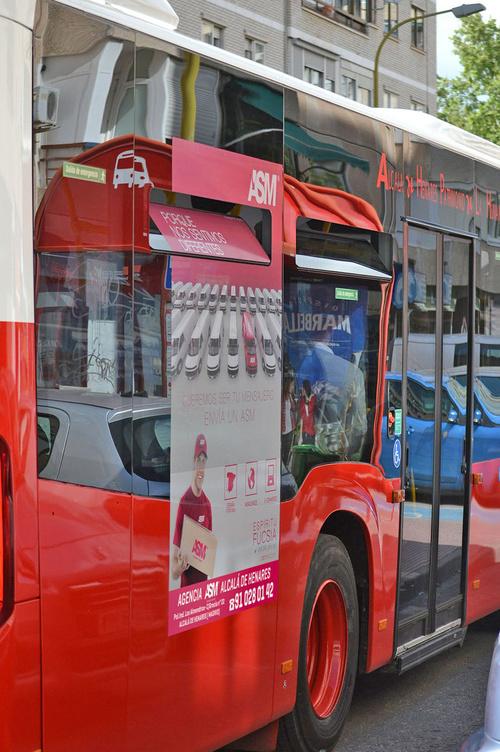 Autobuses en Alcalá de Henares