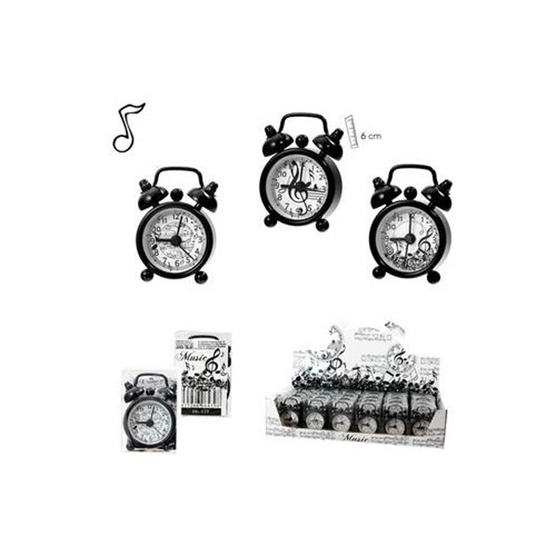 Reloj mini alarma música: Productos y servicios de PENTAGRAMA