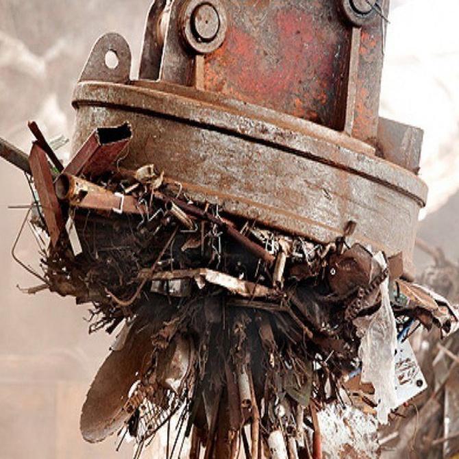 La gestión de residuos en la chatarra y el medio ambiente