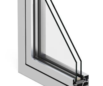 Puertas acristaladas: Catálogo de Alusiero Carpintería de Aluminio