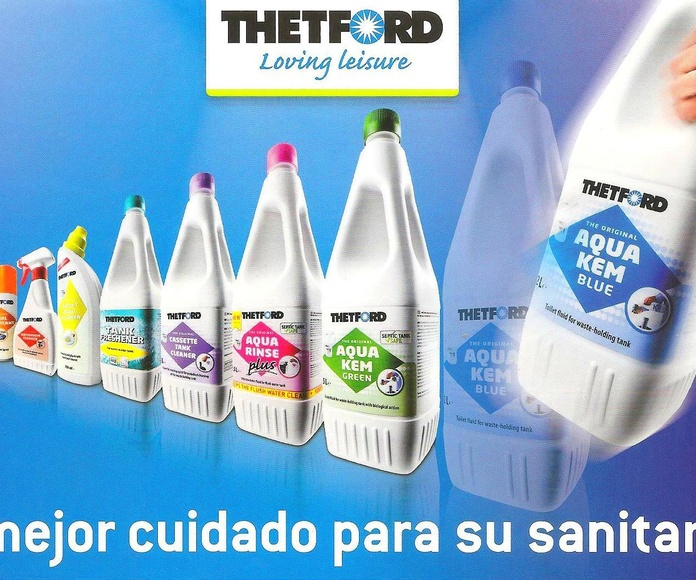 Gama productos Thetford: Catálogo de Caravanas Molina