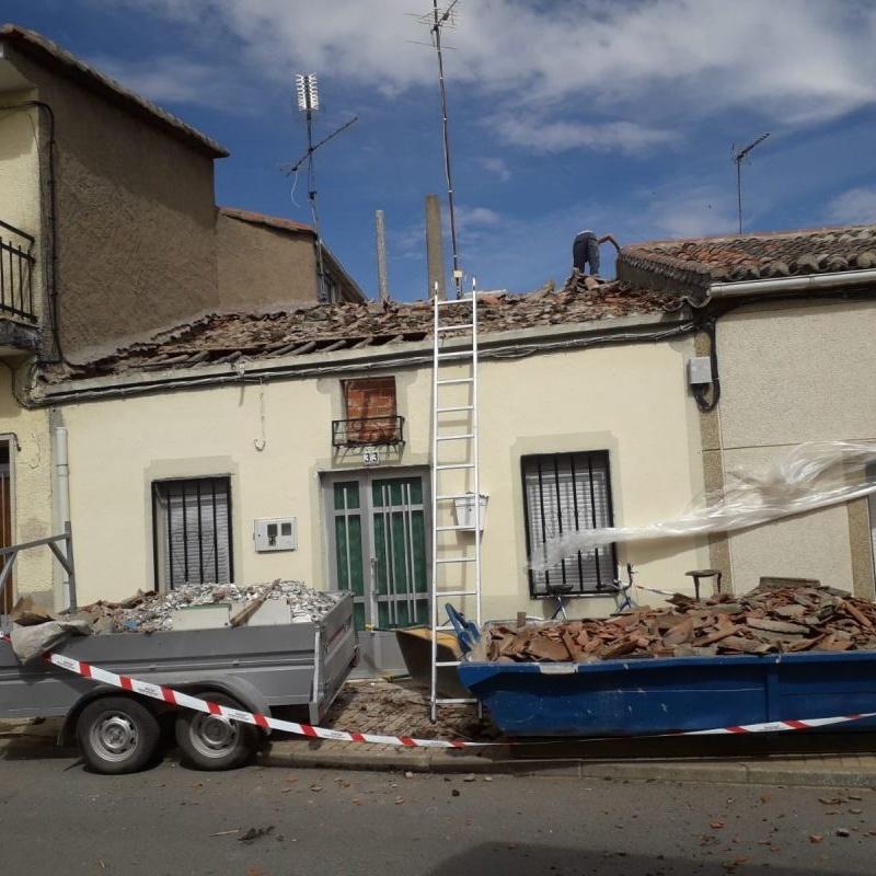 Reformas de cubiertas y tejados: Servicios de Monprebelli
