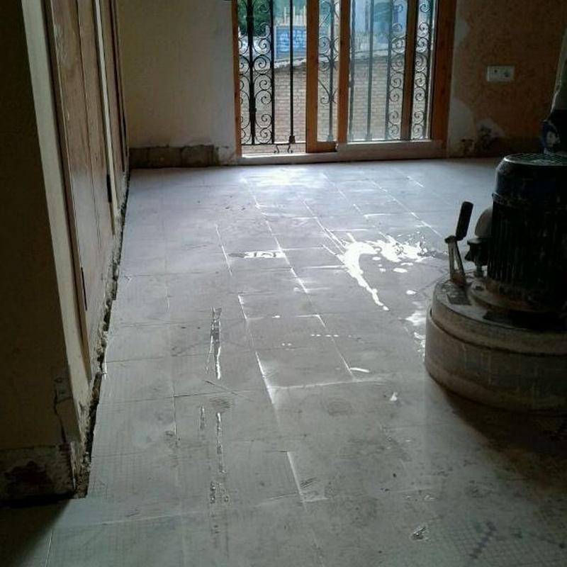 Pulidos de suelos de mosaicos hidraulicos Valencia