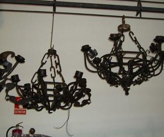 Barandillas : Productos  de Forja Artesanal Hnos. González Marrón
