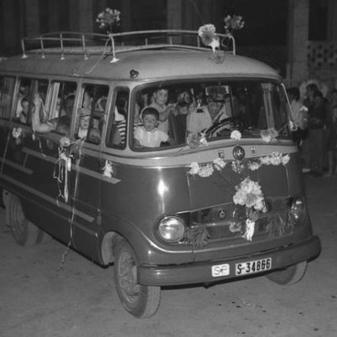 El origen del autobús como transporte colectivo