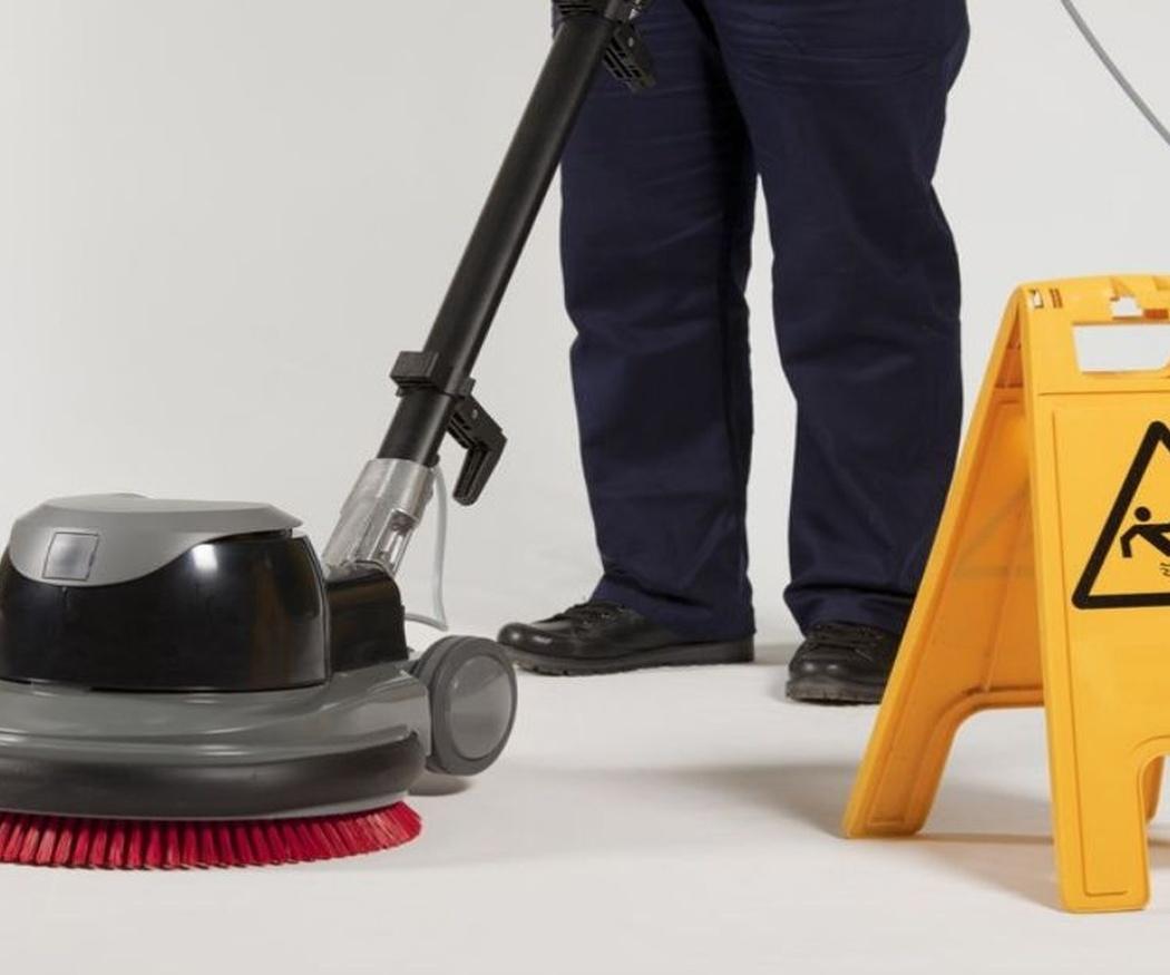 La maquinaria en la limpieza profesional