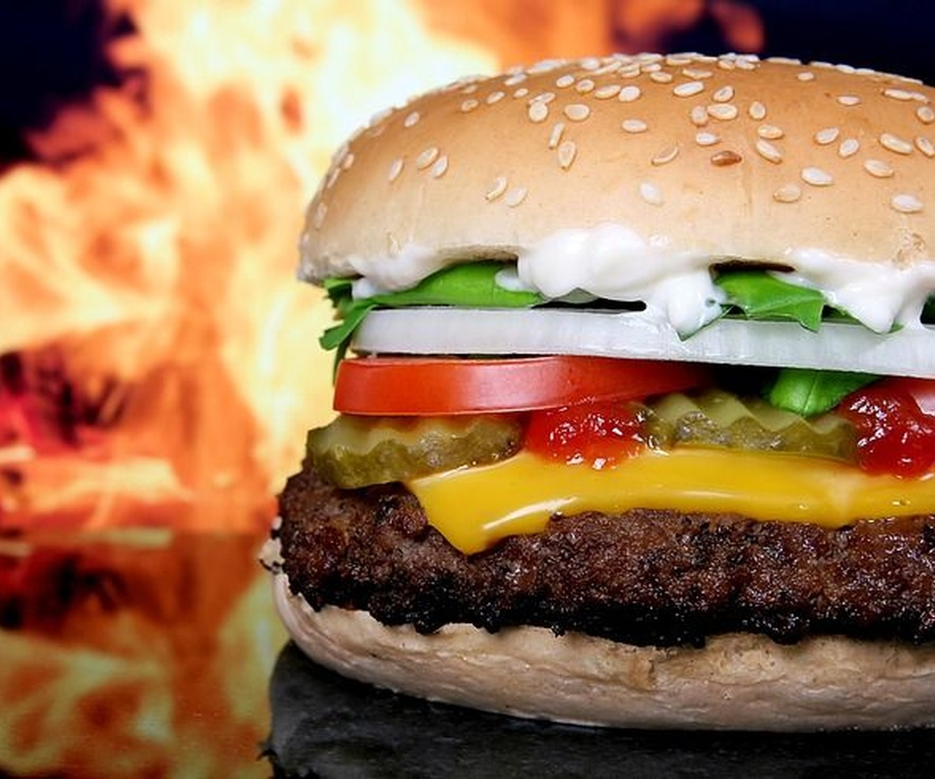 Características de una hamburguesa saludable