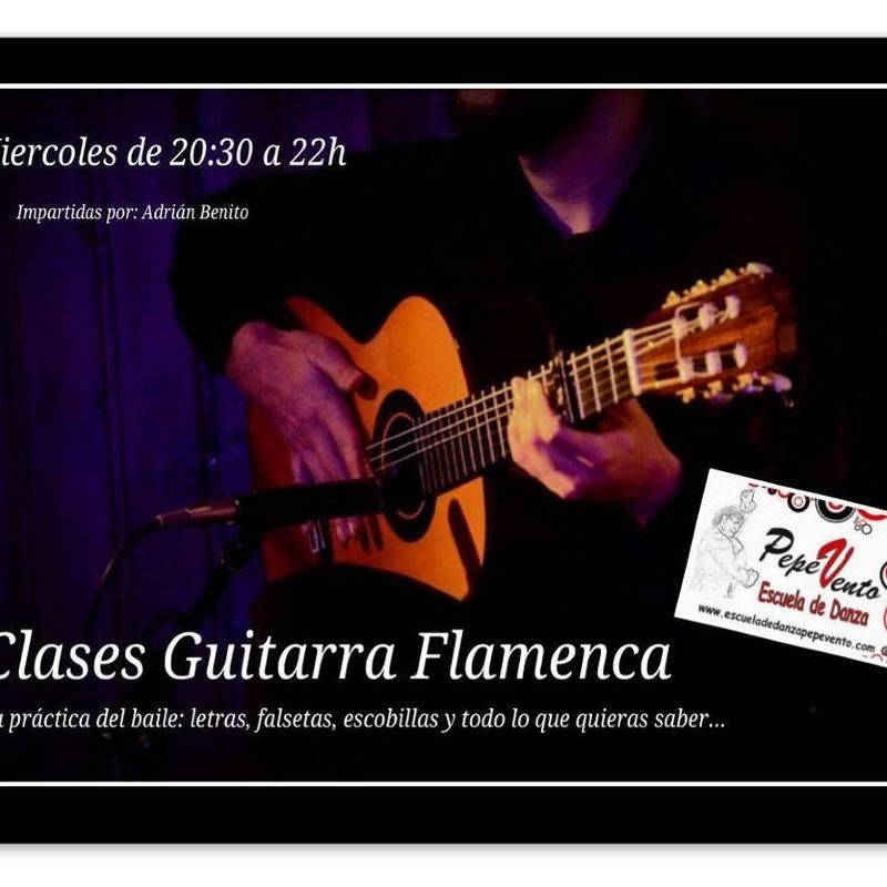 Guitarra Flamenca: Clases de Escuela de Danza Pepe Vento