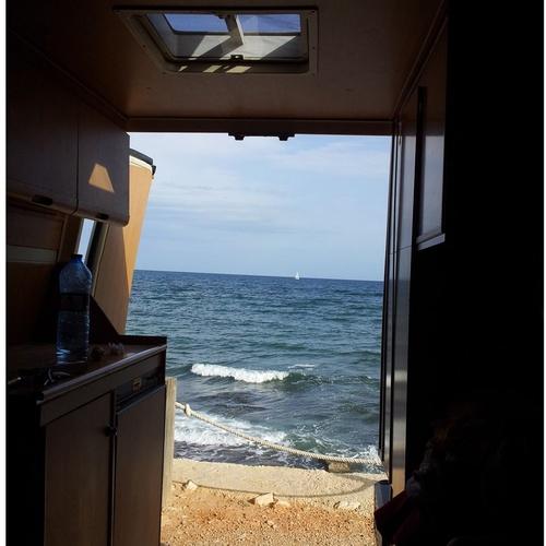 Viviendas sobre ruedas en Ibiza