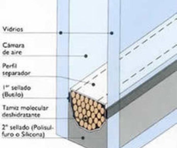 Vidrios de doble acristalamiento en Zaragoza