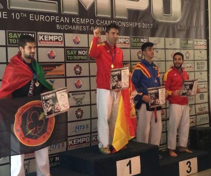 Campeón de Europa de Kenpo/ kempo