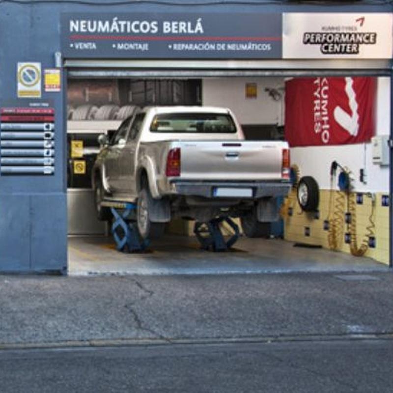 Venta de neumáticos: Servicios de Neumáticos Berlá