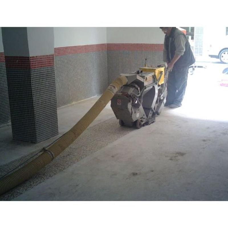 Granallado : Nuestros servicios de Pulimentos Molina SL