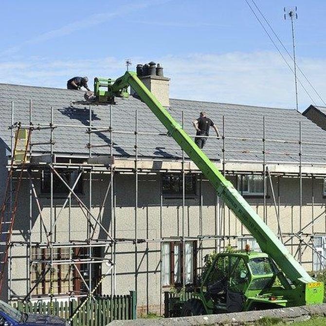La seguridad en las labores de rehabilitación de fachadas