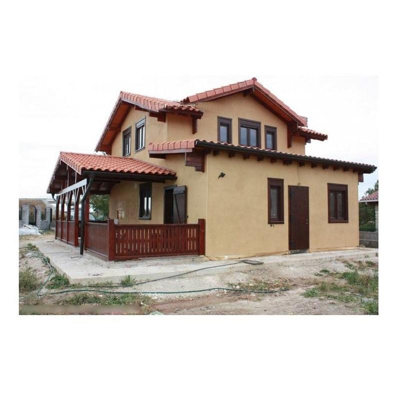 Elena (156 m2): Casas de madera de 5SCC Casas de Madera