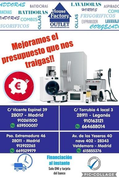 electrodomésticos de ocasión Pueblo Nuevo