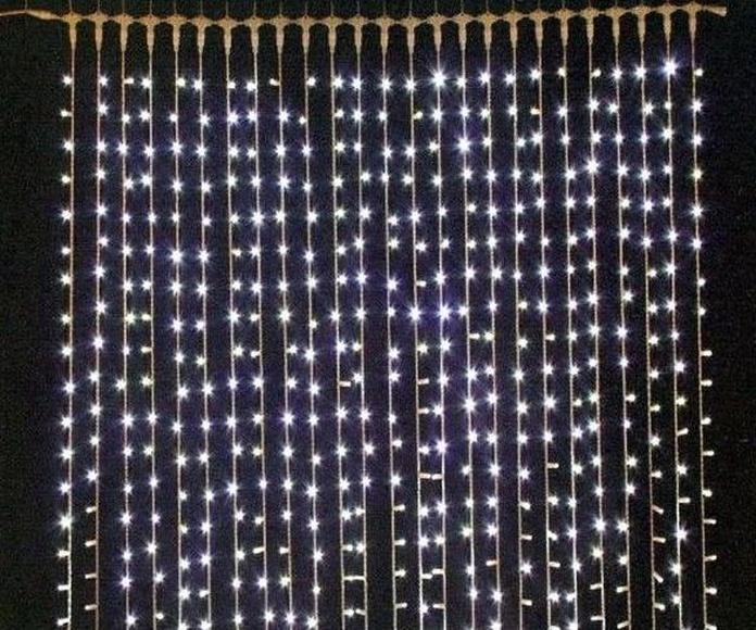 Guirnalda cortina Led Azul: Productos de Centro Led Almería