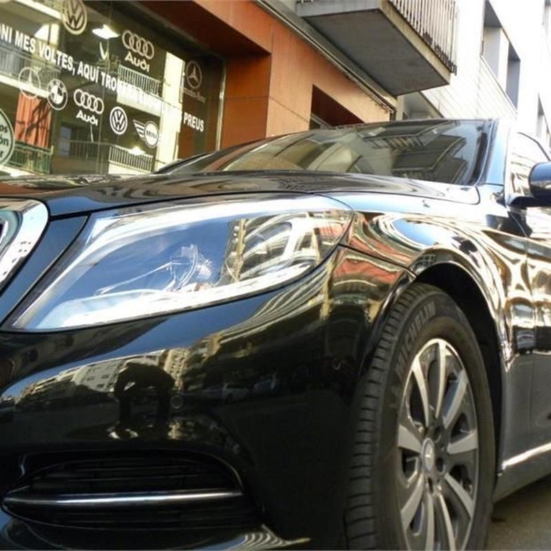 Mercedes-Benz Clase S S 350 BlueTEC 4p: Servicios de Comercial Víctor