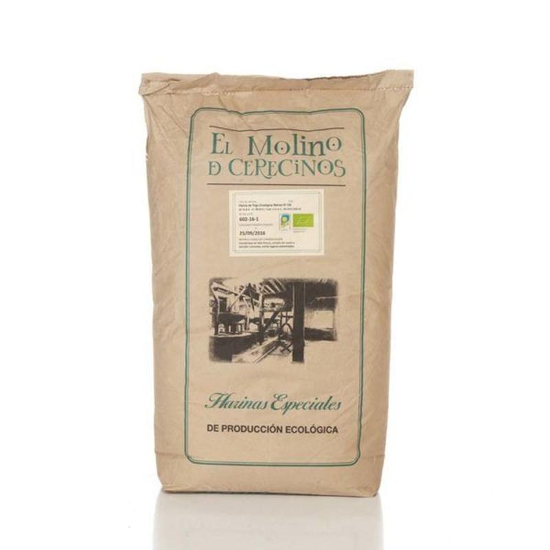 Harina de trigo ecológica blanca W-130 25 kg: Productos de Coperblanc Zamorana