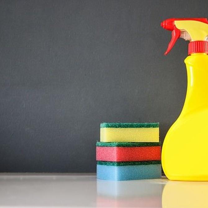 Cómo elegir los productos de limpieza adecuados