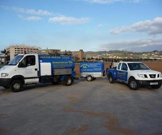 Vehículos especiales para zonas de difícil acceso: Servicios de Desatascos Ya