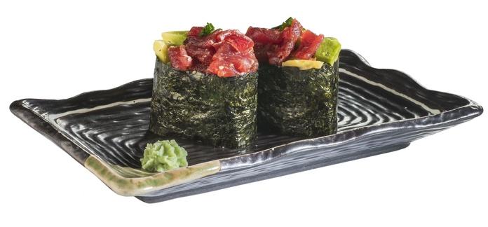 Gunkan de atún (2 piezas)  3,80€: Carta de Restaurante Sowu
